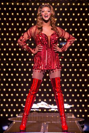 <p>J. Harrison Ghee in the National Tour of Kinky Boots.</p>