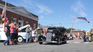 Police Explorers Car Show