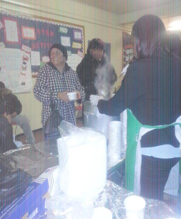 Hot meals help at Flushing's Pomonok buildings 1