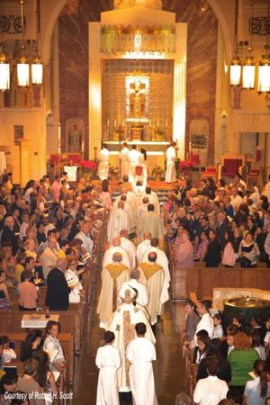 Centennial Mass is held in Flushing 2