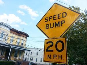 Road bumps 1