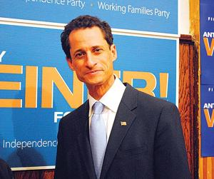 Anthony Weiner phone polling fuels talk of citywide run 1