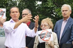 Vallone joins battle against shelter plan 1