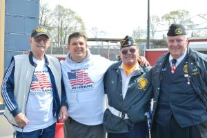 Veterans honored by Little League 1