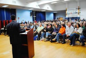 A night of politics in Howard Beach
