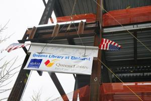 New Elmhurst Library structure completed 2