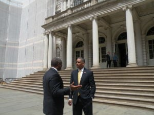 City Councilman Ruben Wills of Queens under arrest