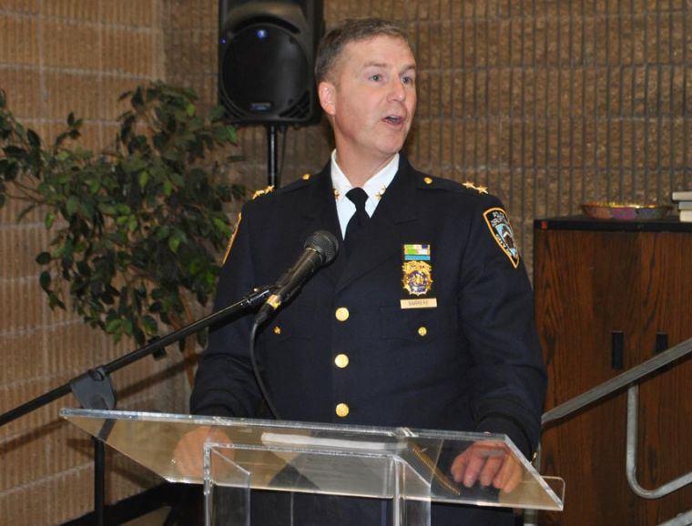 High standards a vow from new NYPD CO 1