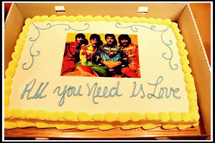 Beatles take the cake 1