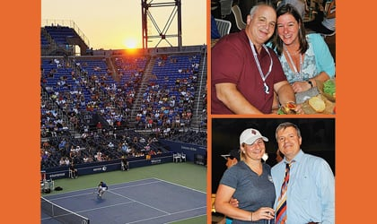 'Open' all night: Tennis is just part of the attraction 1