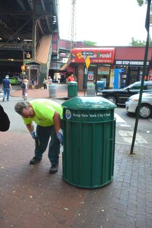 Curbing trash woes in Western Queens 2