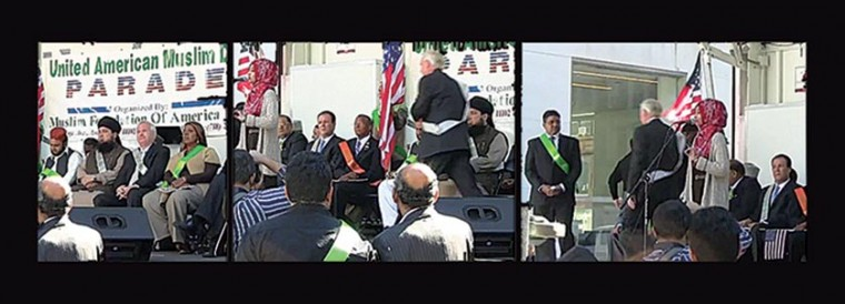 Avella storms out on Islamic parade 1