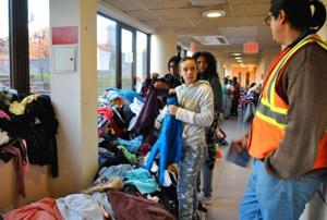 York College opens doors to evacuees 1