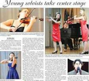 Young soloists take center stage