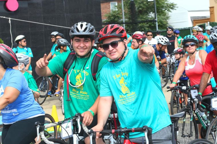 NYFAC's inaugural bike ride raises $15K 2