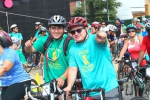 NYFAC's inaugural bike ride raises $15K 2