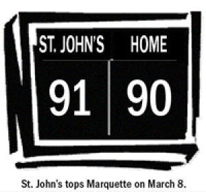 Johnnies end the season with a victory 1