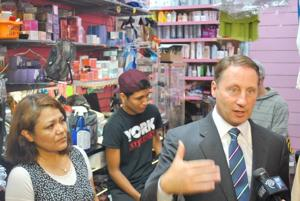 Astorino mingles with Hispanic voters 2