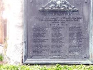 Douglaston memorial to WW I spruced up 1