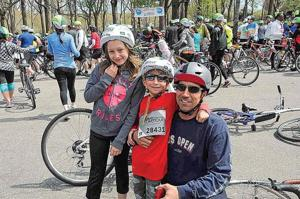 TD 5 Boro Bike Tour rides through Queens