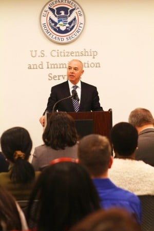 USCIS director says office is part of outreach effort