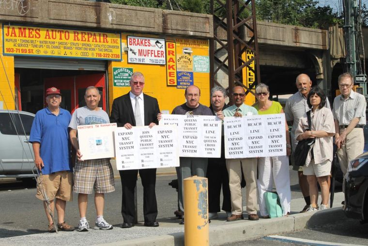 In South Queens, rail backers still pushing 1