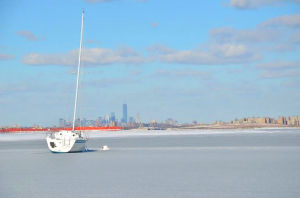 Making the best of a frozen Jamaica Bay 2