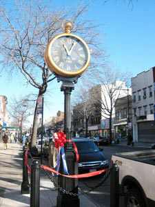 Astoria Homecoming For Steinway Street Clock