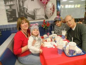 Romance was in the air at White Castle 1