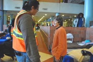 York College opens doors to evacuees 2