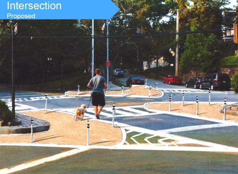 Intersections get new look in Doug. 2