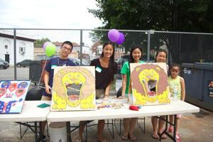 Residents host BBQ for Pan Am families 2