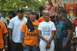 Russell Simmons, LL Cool J visit Jamaica, Queens to stop youth violence