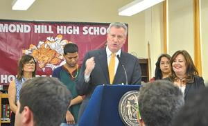 Renewal Schools are working: mayor 1