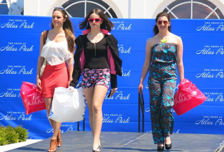 Atlas Park mall gets fashionable