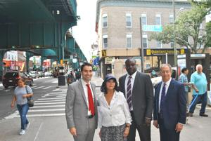 Officials announce Jamaica Ave. study 1