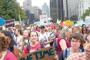 Climate march makes an impact 1