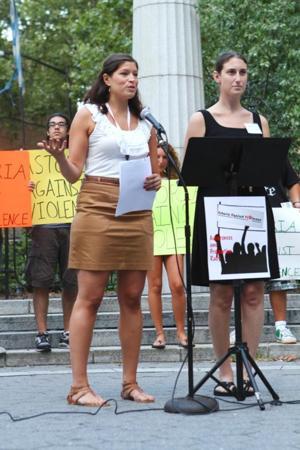 Astoria women start to fight back 2