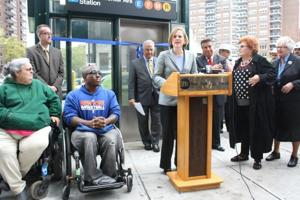 Forest Hills subway elevators finally open 1