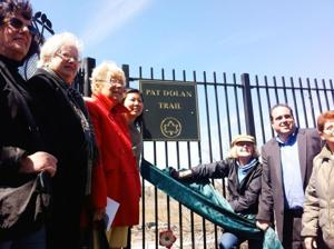 Pat Dolan honored with trail renaming 1