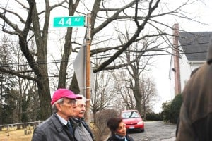 Douglaston cheers old street names 2