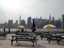 Water Taxi Creates An Oasis In Hunter's Point: A Beach