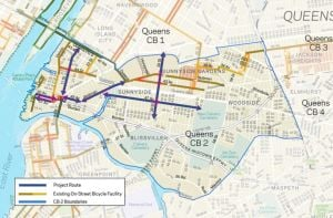 Bike lanes set for LIC and Sunnyside 1