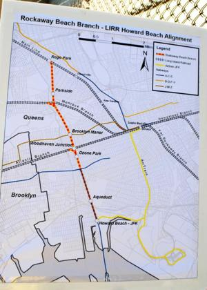 Queens College to study rail line plans 2