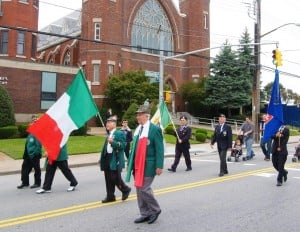 Italian pride show in Columbus Day parade 3