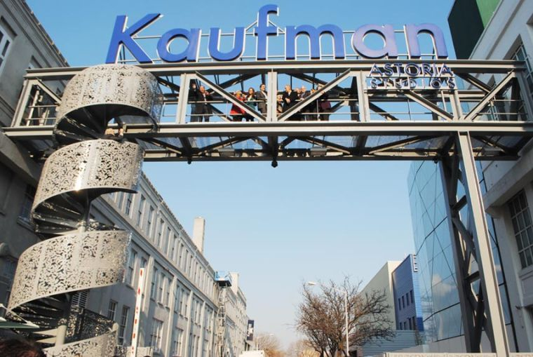 Kaufman cuts ribbon on first outdoor stage 1
