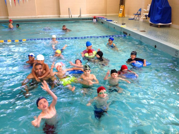 Pack 390 learns swim safety 1