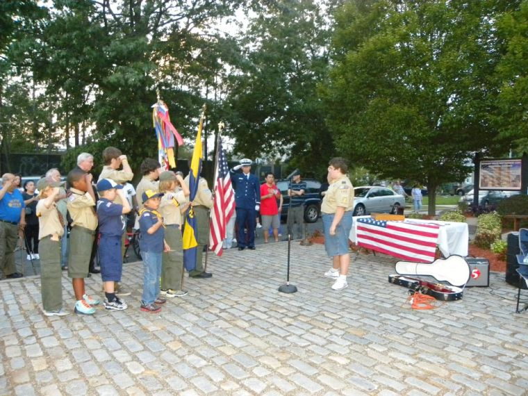 9/11 remembered at Bayside Hills 1