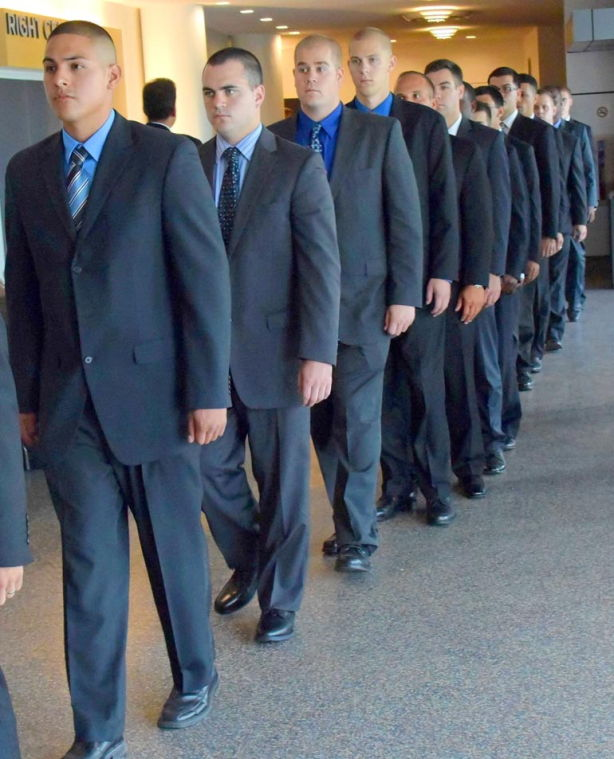True blue: the NYPD's newest cadets