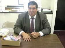 'Outsider' Elio Forcina tries for Assembly seat